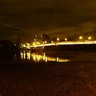 Hammersmith Bridge At Night by Vicki Spindler (VHS Photography)