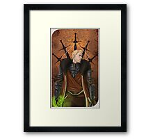 Cullen Rutherford: Inquisitor Framed Print