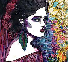 Frida Kahlo by joahannah