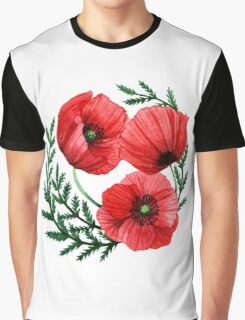 The poppies Graphic T-Shirt