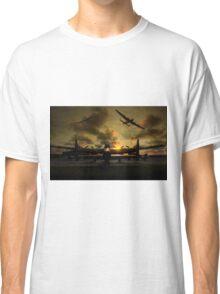 Sunset Lancaster Bombers Classic T-Shirt