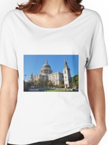 St. Pauls Cathedral, City of London Women's Relaxed Fit T-Shirt