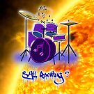 It's Going to be a Hot Time Tonight iPad case by Dennis Melling