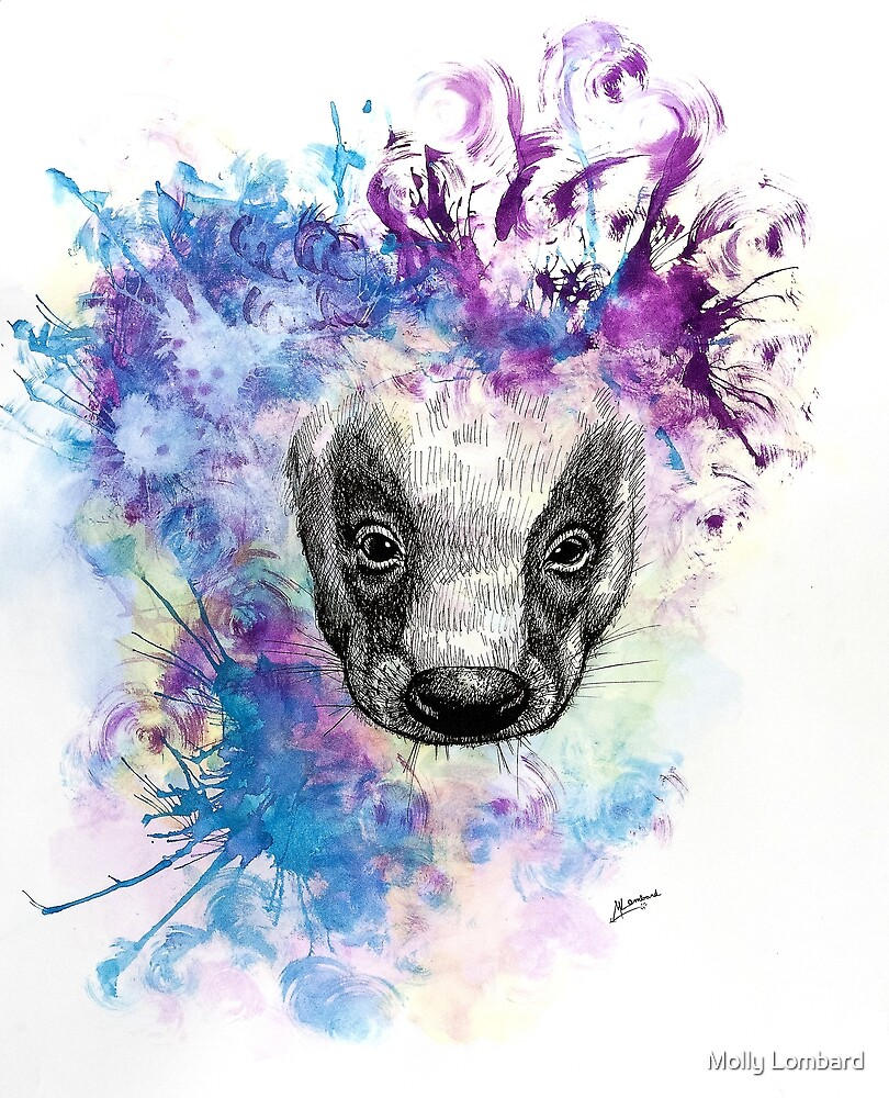 Ink Badger by Molly Lombard