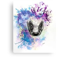 Ink Badger Canvas Print