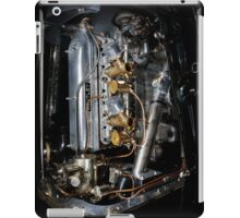 4.5 Litre Bentley Engine iPad Case/Skin
