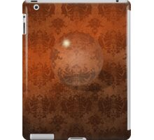 Brown Damask, Crystal Ball iPad Case iPad Case/Skin