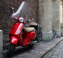 Vespa a scooter by mrivserg