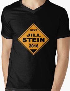 Jill Stein for president 2016 - Road Sign Mens V-Neck T-Shirt