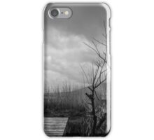 Solitary tree and Criffel iPhone Case/Skin