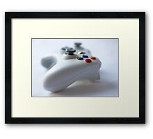 Game on Framed Print