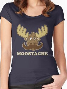 Moostache Women's Fitted Scoop T-Shirt