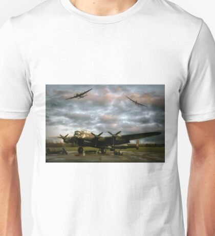 The Avro Lancaster Trio Unisex T-Shirt
