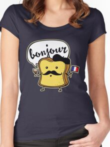 French Toast Women's Fitted Scoop T-Shirt