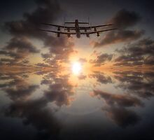 Sunset Lancasters  by UKGh0sT