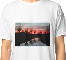 Sunset in April Classic T-Shirt
