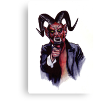 Uncle Satan Canvas Print