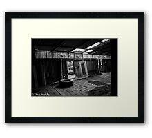 Abandoned Farmhouse Framed Print