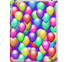 Bright Balloons on Purple, iPad Case iPad Case/Skin
