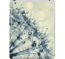 droplets of indigo iPad Case/Skin