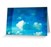 cloud Greeting Card