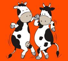 Mooviestars - Dancing Cows Kids Tee