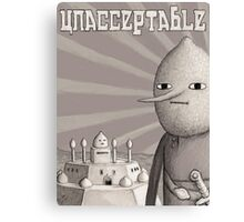 Unacceptable: Castle Lemongrab Canvas Print