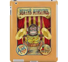 Death's Minstrel: Jolly Chimp Sideshow Banner iPad Case/Skin