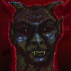Here's The Devil! iPad Case by Cherie Balowski