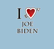 i love Joe Biden heart  Womens Fitted T-Shirt