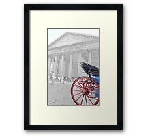 The Pantheon at Rome Framed Print