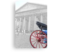 The Pantheon at Rome Canvas Print