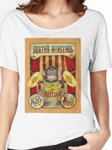 Death's Minstrel: Jolly Chimp Sideshow Banner Women's Relaxed Fit T-Shirt