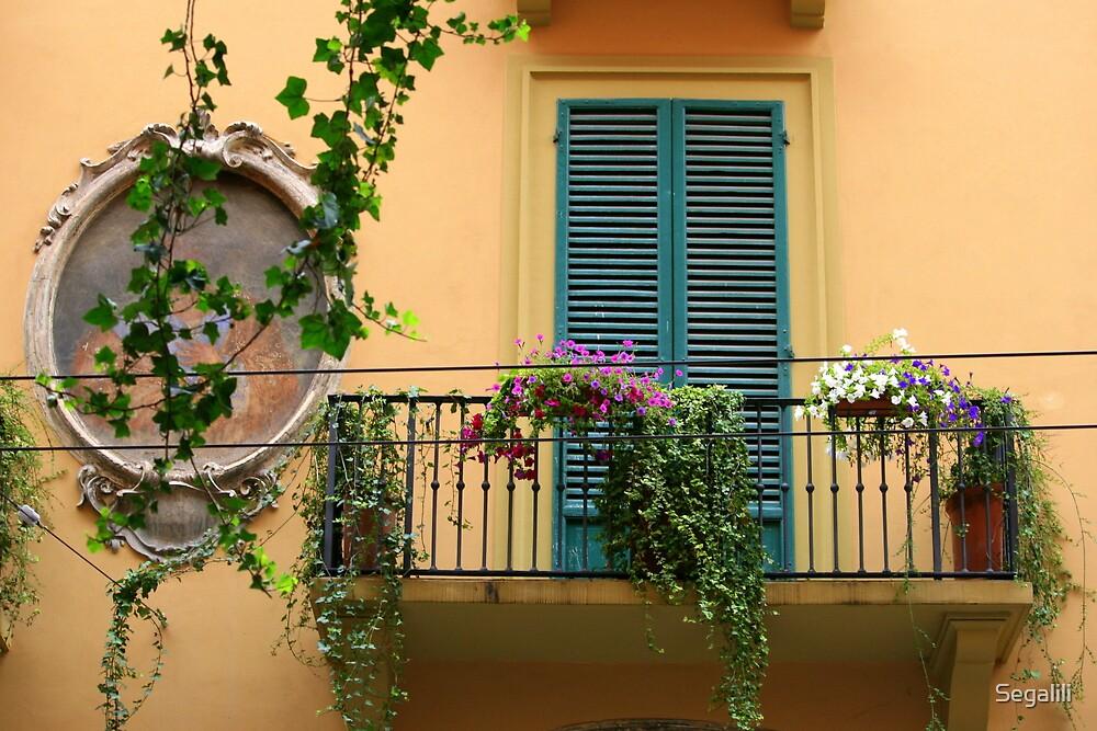 A balcony in Bologna by Segalili