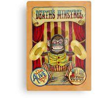 Death's Minstrel: Jolly Chimp Sideshow Banner Metal Print