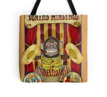 Death's Minstrel: Jolly Chimp Sideshow Banner Tote Bag