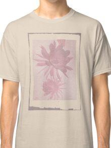 12th Doctor Negative Flower T-Shirt Classic T-Shirt