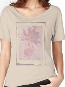 12th Doctor Negative Flower T-Shirt Women's Relaxed Fit T-Shirt