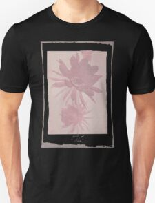 12th Doctor Negative Flower T-Shirt T-Shirt