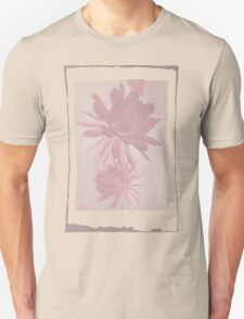 12th Doctor Negative Flower T-Shirt T-Shirt