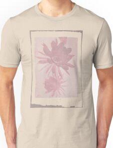 12th Doctor Negative Flower T-Shirt Unisex T-Shirt