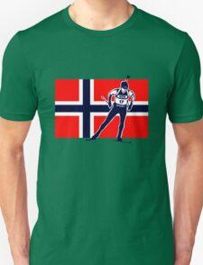 Norway Biathlon  Unisex T-Shirt