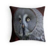 A wise old owl ..... Throw Pillow