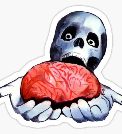 Brains! Live Brains! Sticker