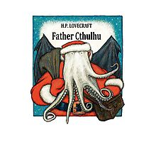 Father Cthulhu Photographic Print