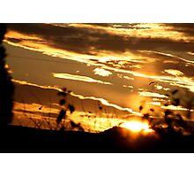amazing sunrise Photographic Print