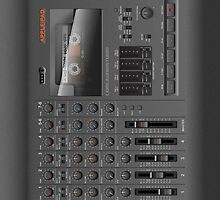 Portable 4-Track Recording Studio iPad Case by Alisdair Binning
