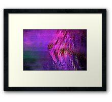 Mermaid Rock (La Poitrine de la Sirène) Framed Print