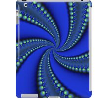 Blue and Green Illuminations iPad Case/Skin