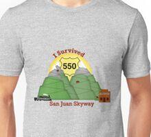 I Survived Hwy 550 Durango to Silverton Unisex T-Shirt